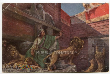 Daniel w klatce z lwami