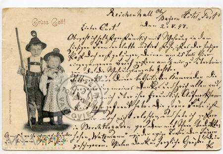 Pocztówka okolicznościowa 1897