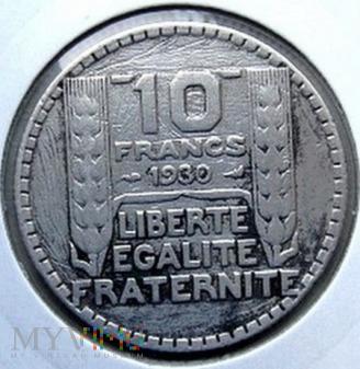 10 franków 1930 r. Francja