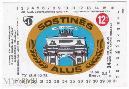 SOSTINĒS ALUS
