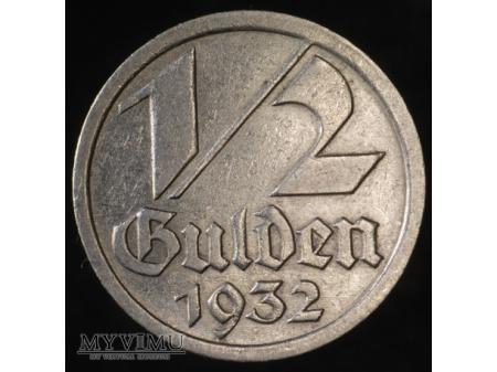 1/2 Guldena 1932
