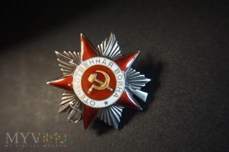 Order Wojny Ojczyznianej - II Klasy