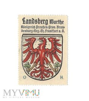 Landsberg a.d Warthe Vignette