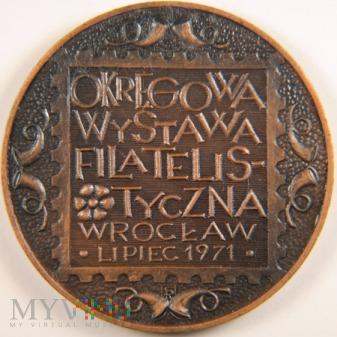 1971 - Okręgowa Wystawa Filatelistyczna Wrocław