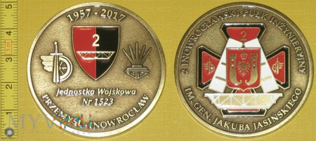 Medal kolejowy - wojskowy 2 Inowr. Pułk Inżynier.