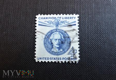 Duże zdjęcie znaczek USA