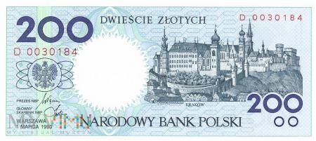 Polska - 200 złotych (1990)