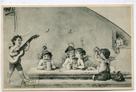 Biesiada amorków - 1912