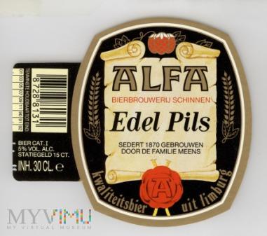 Duże zdjęcie Alfa, Edel Pils