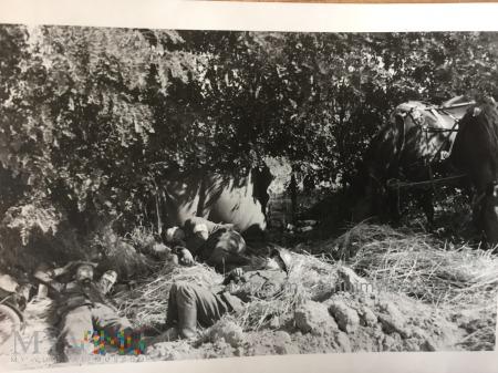 odpoczynek sanitariuszy 1939
