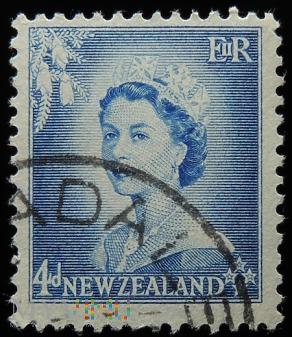 Nowa Zelandia 4D Elżbieta II
