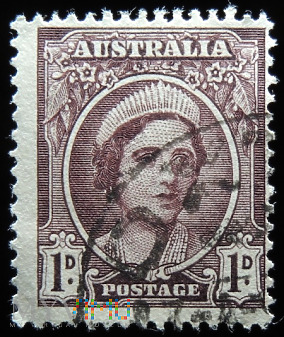 Australia 1d Elżbieta II