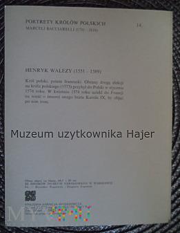 14 - Henryk Walezy ( 1551 - 1589 )