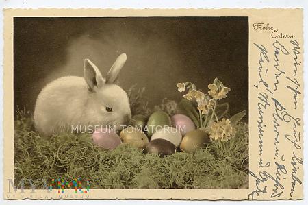 Wesołych Świąt Wielkanocnych - lata 30-te XX w.
