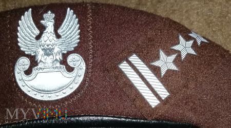 Beret pułkownika Obrony Terytorialnej OT