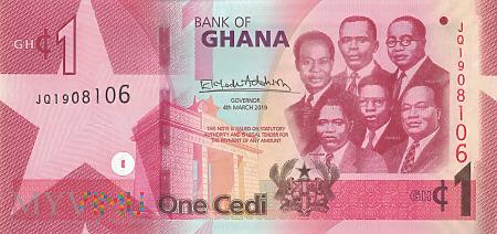 Ghana - 1 cedi (2019)