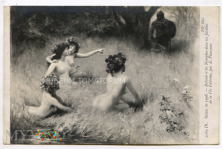 Plauzeau - Roland i nimfy - 1906