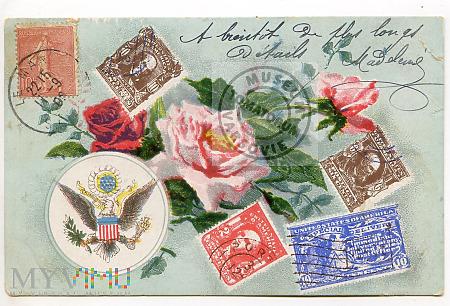 Pocztówka artystyczna - 1906