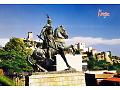 Pierwszy pomnik w Albanii