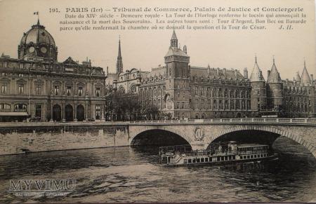 Paryż - Gmacy Sądu, Pałac Sprawiedliwości