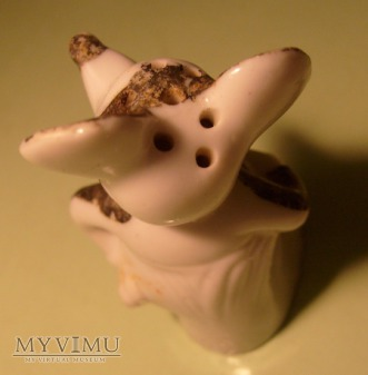 Mickey Mouse Ceramic Salt Shaker Figurine German