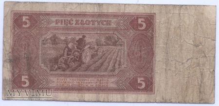 5 złotych - 1948.