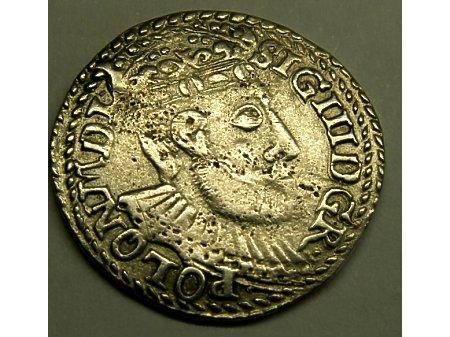 Trojak mennica Olkusz- 1599 r