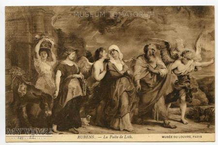P.P. Rubens - Ucieczka Lota