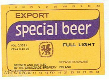 export special beer
