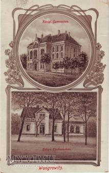 Gimnazjum i Tochterschule w Wągrowcu