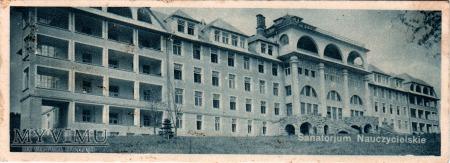 Duże zdjęcie Sanatorjum Nauczycielskie