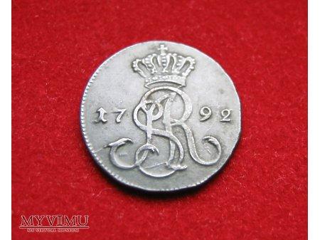 Grosz koronny 1792
