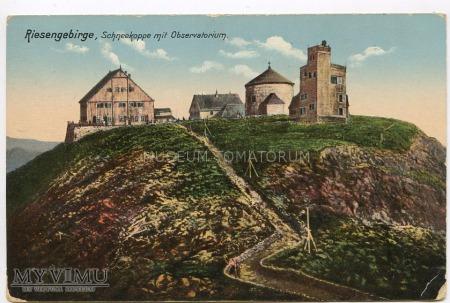Karkonosze Śnieżka Schneekoppe 1900