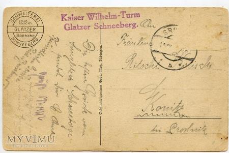 Sudety - Glatzer Schneeberg - pocz. XX w.