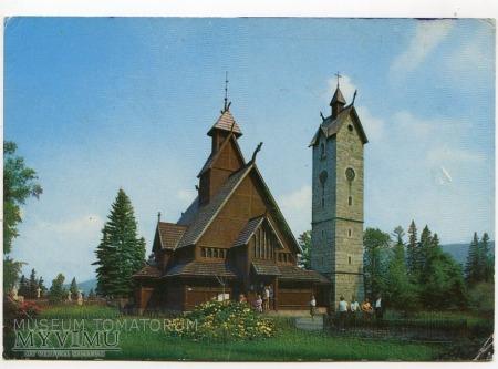 Karkonosze - Bierutowice, Świątynia Wang - ok.1978