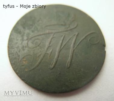 1 PFENNIG - PRUSY (1796)