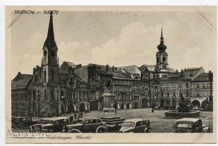 Trautenau - Trutnów - rynek - lata 50-te