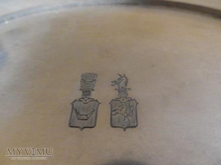 Herb Łodzia-tacka na wizytówki