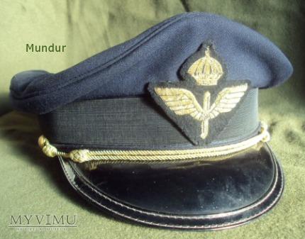 Czapka oficerska lotnictwa - Skärmmössa