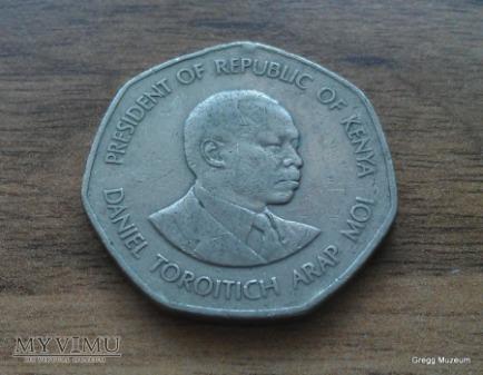 5 SHILLING- KENYA 1985
