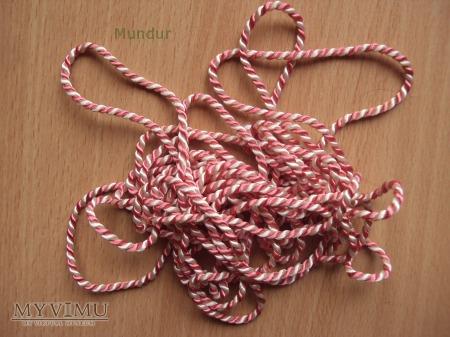 Oznaki szkolne - sznurek podchorążych rezerwy