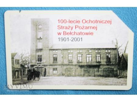 100 lecie OSP w Bełchatowie 1901-2001