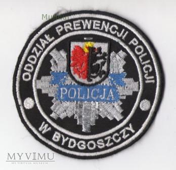 Oznaka ODDZIAŁ PREWENCJI POLICJI w BydgoszczY