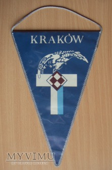 Proporczyk - Kraków JW im. ppłk.pil. S.Skarżyńskie