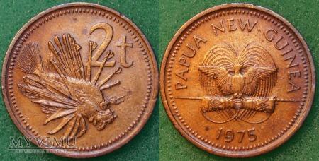 Papua Nowa Gwinea, 2 Toea 1975r