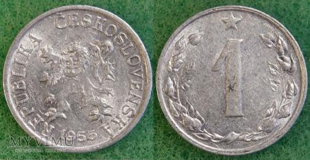 Czechosłowacja, 1 Haléř 1955