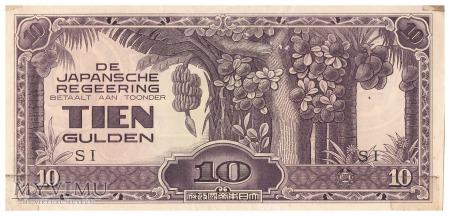 Holenderskie Indie Wschodnie - 10 guldenów (1942)