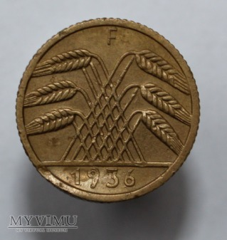 5 pfennig 1936