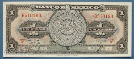 1 peso 1959 r - Banco de Mexico - Meksyk