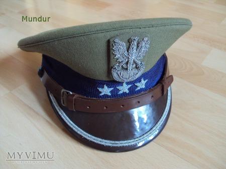 Czapka garnizonowa NJW porucznika - tropik